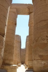 Egypt ruins